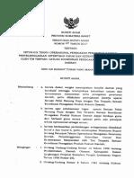 PERBUP NO 29 TAHUN 2017 Ttg Petunjuk Teknis Operasional Penegakan PERDA, Penyelenggaraan Ketertiban Umum Oleh Tim Terpadu Satkor Penegakan Produk Hukum Daerah