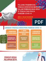 Menteri Desa PDT dan Transmigrasi - Penempatan tenaga kesehatan dalam pembangunan desa - 1st PHSM 2020