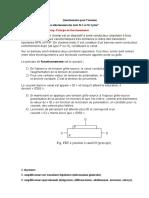 Questionnaire CDE