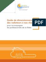 EA Guide Dimensionnement Radiateur Nov2010
