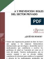 Alerta y Prevención Roles del Sector Privado