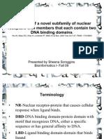 Evolution of Nuclear Receptors