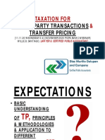 Taxation for RPT and Transfer Pricing