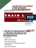 TRAIN Law - Diaz Murillo Dalupan and Company