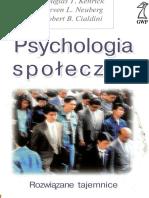 Psychologia Społeczna Rozwiązane Tajemnice Cialdini