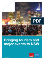 Tourism and Major Events