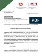 Toque de Recolher e Suspensão de Eventos e Reuniões Em Sergipe