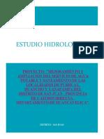Estudio Hidrologico Rio San Juan
