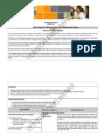 Planes y Programas de estudio de Administración Contable 3 Secundaria