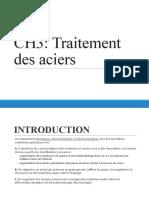 3- Traitements Des Aciers (Géneralités)