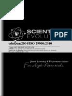 109284352 Manuel Qualite EduQua 2004 Scientific Evolution Sarl