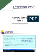 CursoC++Aula2 Gerhard Saboia