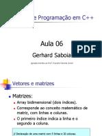 CursoC++Aula6 Gerhard Saboia