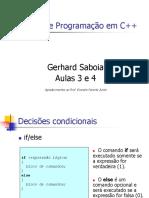 CursoC++Aulas3e4 Gerhard Saboia