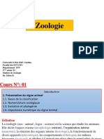 Zoologie Introduction