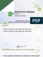 Aula04 - Tipos de Sistemas de Informação