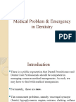 Medical Problems and Emergency