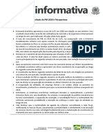 NI - Atividade Econômica PIB 2020 e Perspectivas