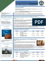2.22.2011 KHTM Newsletter