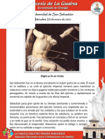 Solemnidad de San Sebastián