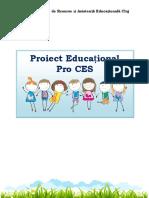 Activitati_Proiect educational_Pro      CES