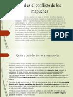 Cuál es el conflicto de los mapuches
