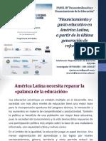 Cetrángolo y Curcio 2017 - Gasto Educativo en América Latina
