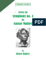 Mahler Symphony No 4 Notes and Assignmen