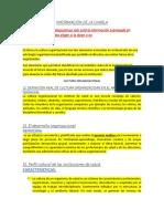 Charla de Gerencia -Informacion