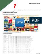 Daftar m3u IPTV Channel Didunia