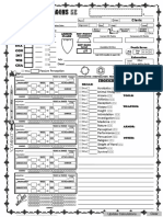 Character Sheet - Cleric