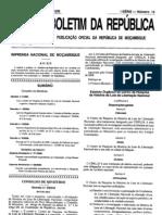 Decreto nº 5.2008 de 09.04 - Aprova o Regulamento dos Imposto Específicos da Actividade Mineira