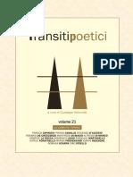 Transiti Poetici Vol XXI - All'ombra dei cipressi