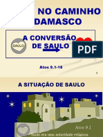PAULO NO CAMINHO DE DAMASCO