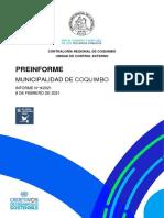 Preinforme Obs.N° 9-2021 gestión Municipalidad Coquimbo