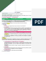 Droit Des Obligations - Summaries