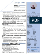 CV van der Zwan 2020