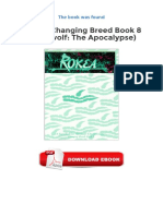 Rokea Changing Breed Book 8 Werewolf The Apocalypse Ebooks Gratuit