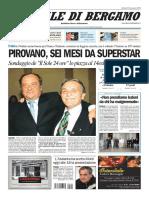 Martedi Giornale Di Bergamo 12 Gennaio 2010