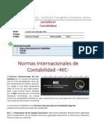 Leccion No 7 Normas Internacionales de Contabilidad NIC 152 0
