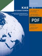 KAS Auslandsinformationen – Sonderausgabe  »Umbruch in Nahost« (22. Februar 2011)