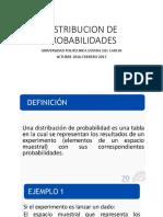 2. DISTRIBUCIONES  DE PROBABILIDAD
