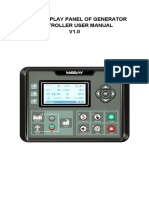 HM500 Display Panel User Manual V1.0