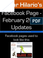 Facebook Page - February 2011 Updates PDF