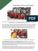 What is the All Burma Monks Alliance 2007 Burma