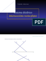 Interseccións recta-plano