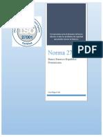 proyecto de norma(normalizacion)
