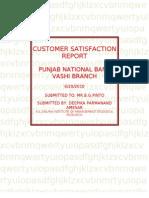 customer satisfaction report-final