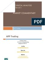 APF Trading Technical Analysis Market Commentary 27 Feb 2011