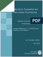 Unidad Didáctica 11- Comunicaciones Empresariales